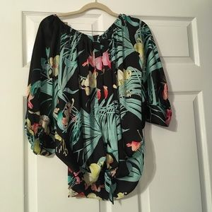 Jennifer Lopez Tropical Blouse